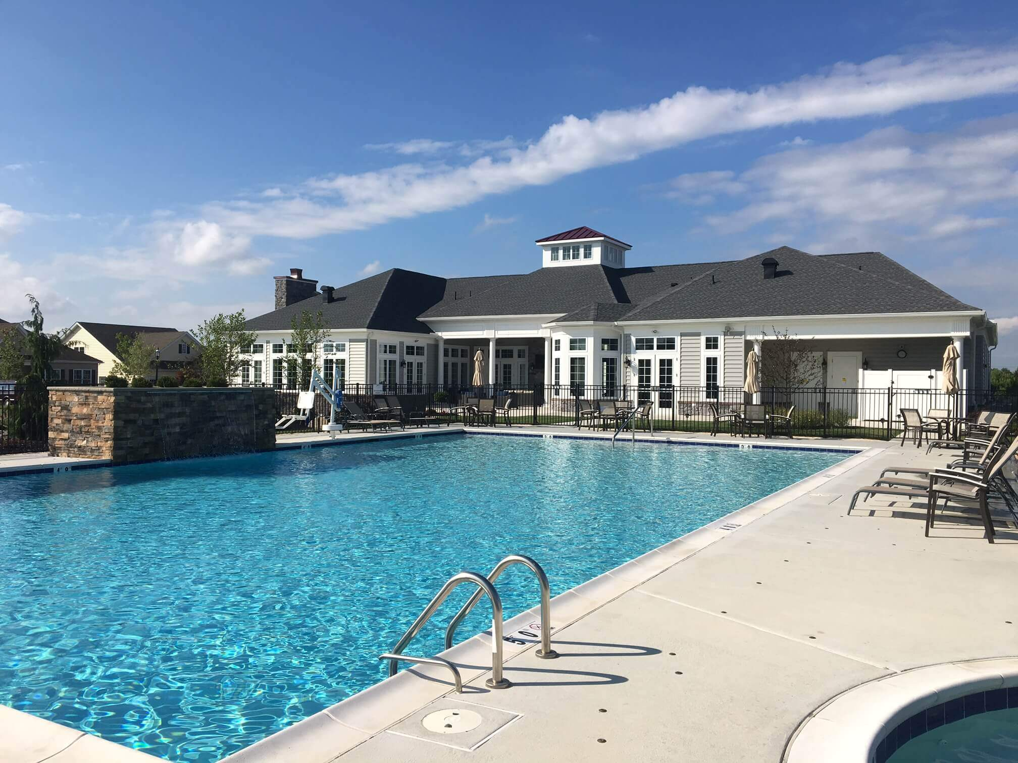 Clubhouse and pool Lititz